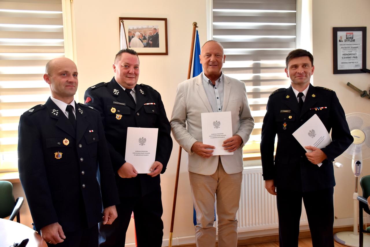 Gmina Bardo: OSP Brzeźnica w systemie ratowniczo-gaśniczym - Zdjęcie główne