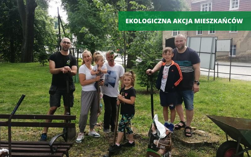 Ząbkowice Śląskie: Zielona inicjatywa mieszkańców - Zdjęcie główne