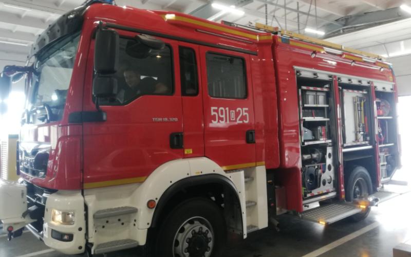 Ząbkowice Śląskie: Nowy samochód dla Jednostki Ratowniczo-Gaśniczej  - Zdjęcie główne