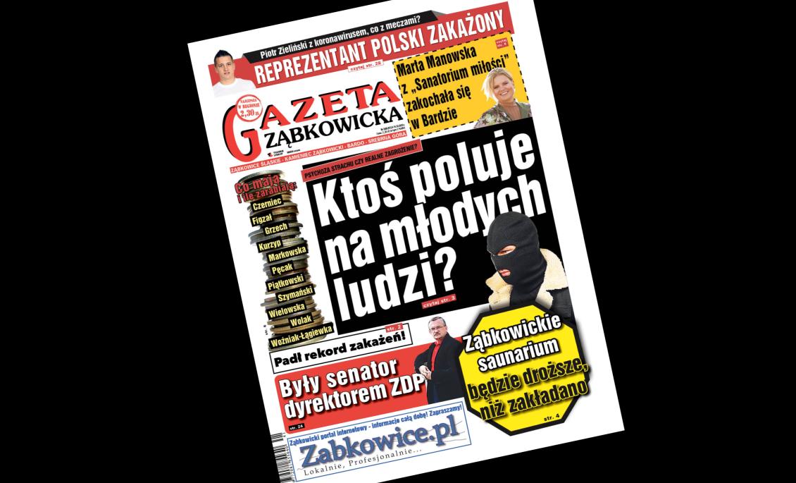 """""""Gazeta Ząbkowicka"""" z czwartku, 8 października  - Zdjęcie główne"""