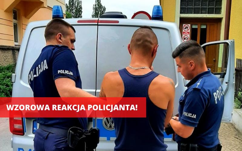 Ząbkowice Śląskie: Był poszukiwany przez policję, wpadł na zakupach - Zdjęcie główne