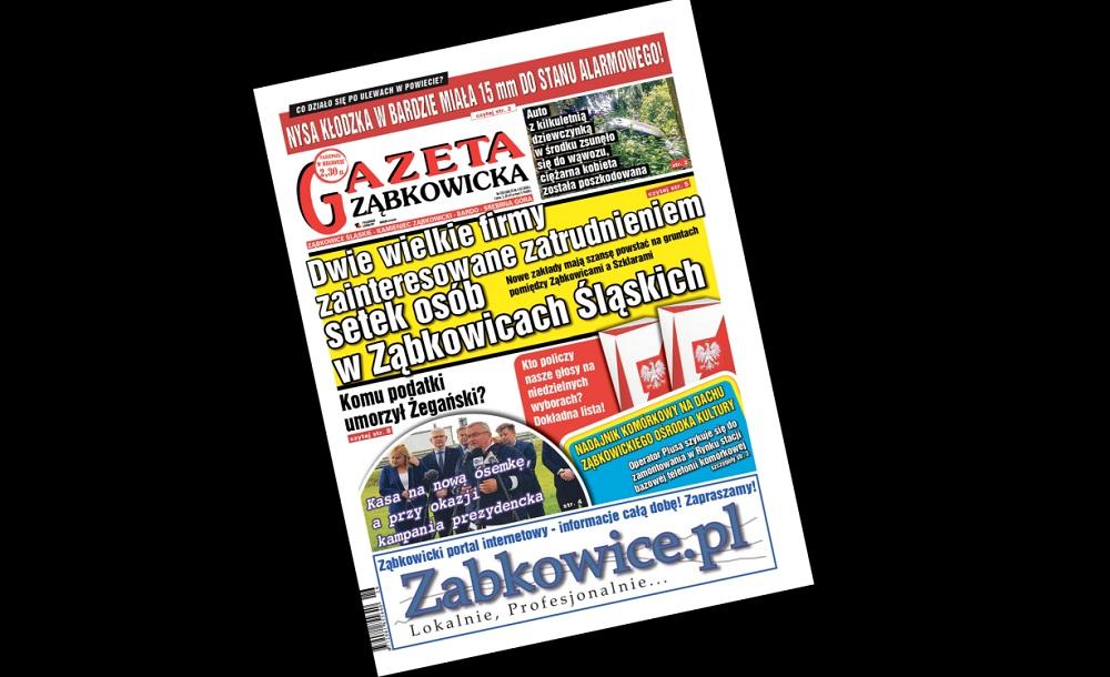 """Najnowsza """"Gazeta Ząbkowicka"""" czeka na Czytelników - Zdjęcie główne"""