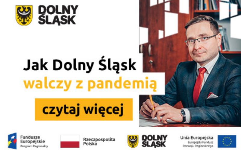 Jak Dolny Śląsk walczy z pandemią?  - Zdjęcie główne