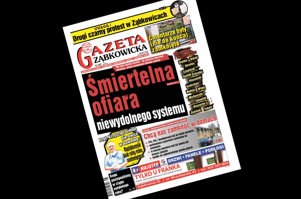 """""""Gazeta Ząbkowicka"""" z czwartku, 5 listopada - Zdjęcie główne"""