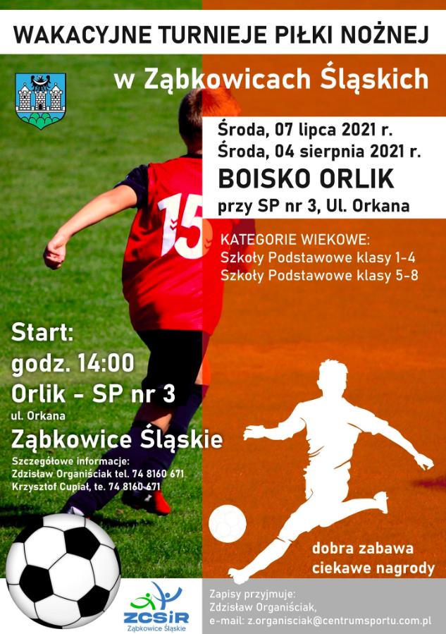 Wakacyjny Turniej Piłki Nożnej w Ząbkowicach - Zdjęcie główne