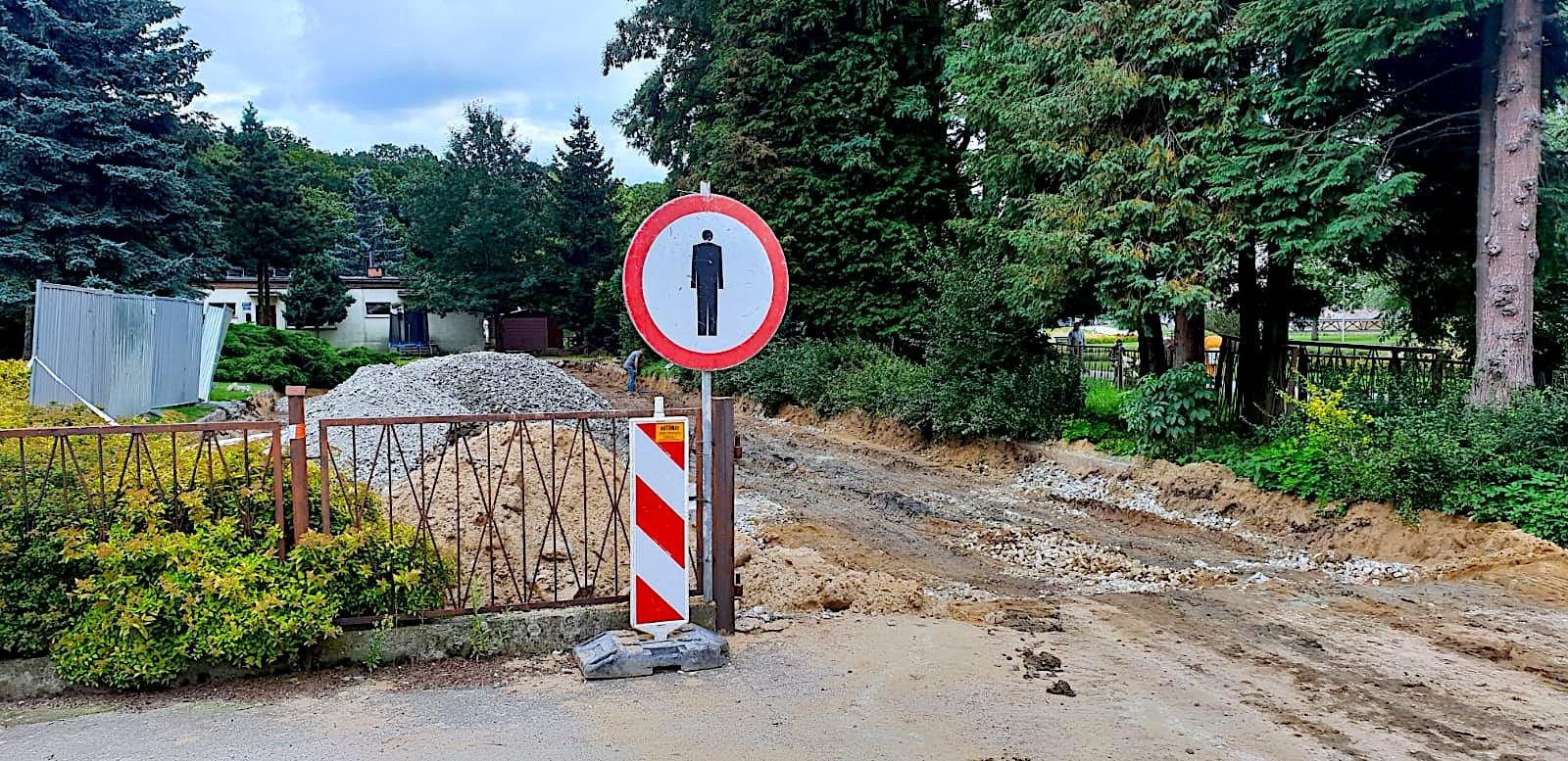 Ruszył remont drogi w Kamieńcu Ząbk. - Zdjęcie główne