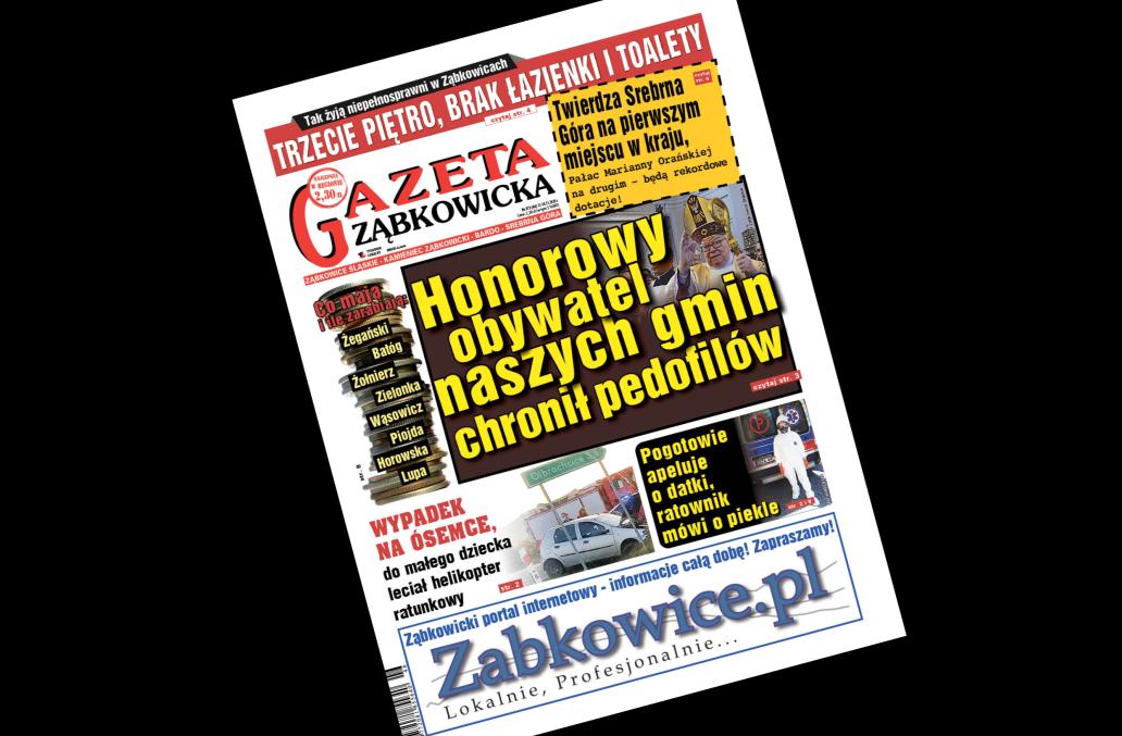 """""""Gazeta Ząbkowicka"""" z czwartku, 12 listopada  - Zdjęcie główne"""