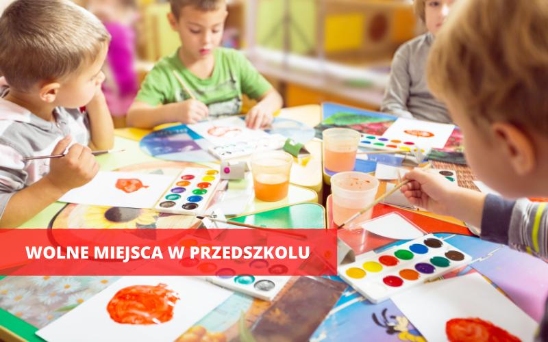 Ząbkowice Śląskie: Są jeszcze miejsca w przedszkolach - Zdjęcie główne