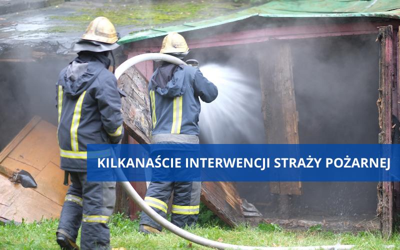 Powiat Ząbkowicki: Straż pożarna interweniowała 19 razy - Zdjęcie główne