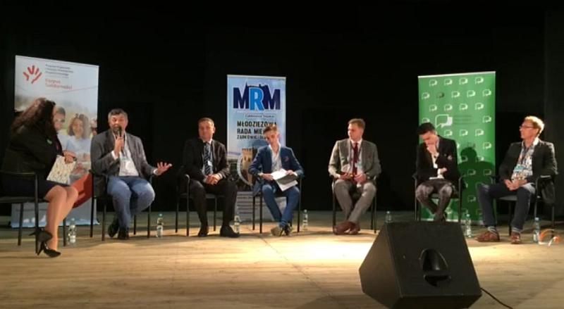 Forum dla Młodych - do Ząbkowic przyjechali młodzieżowi radni - Zdjęcie główne
