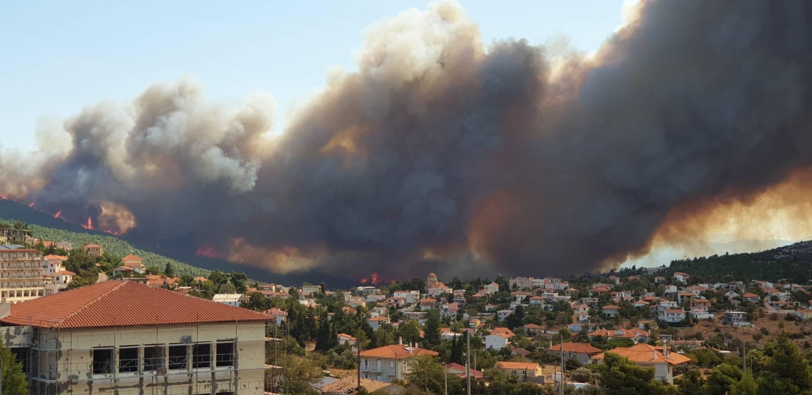 Ząbkowice Śląskie: Nasi strażacy pojechali z pomocą do Grecji - Zdjęcie główne