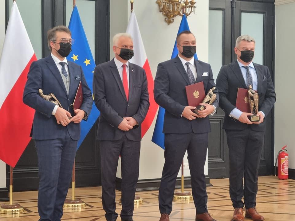 Ząbkowice Śląskie: Ratownik z nagrodą od Ministra Zdrowia - Zdjęcie główne