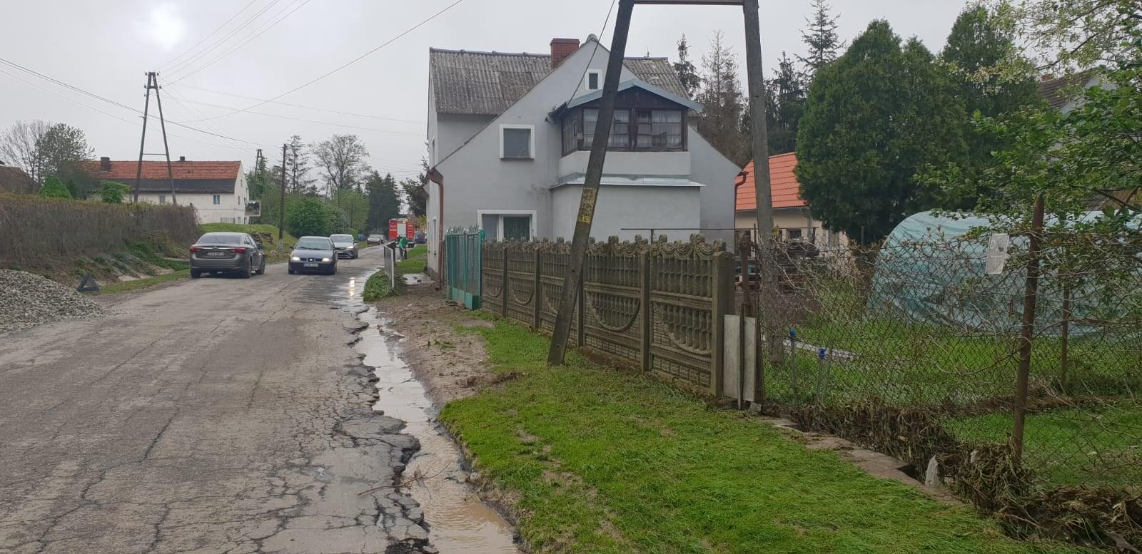 Kamieniec Ząbkowicki: W wyniku nawałnic poszkodowanych zostało aż 20 rodzin - Zdjęcie główne