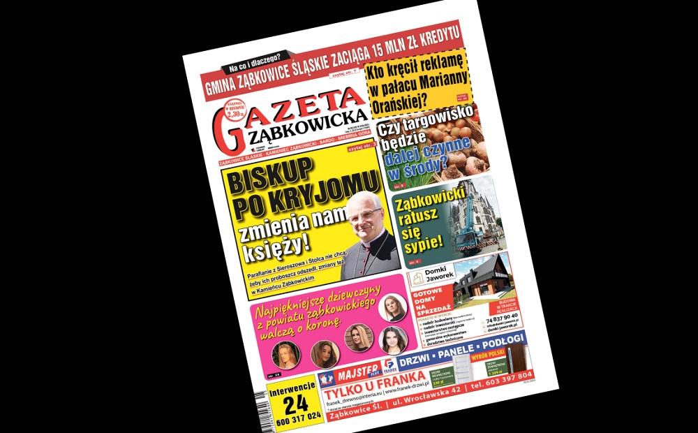 """Czwartkowa """"Gazeta Ząbkowicka"""", a w niej... - Zdjęcie główne"""
