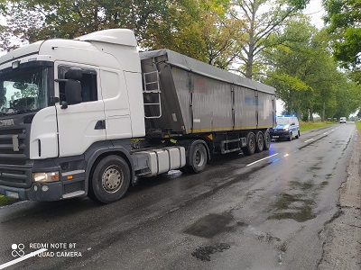 Ząbkowice Śląskie: Kierowca ciężarówki miał 1,5 promila - Zdjęcie główne