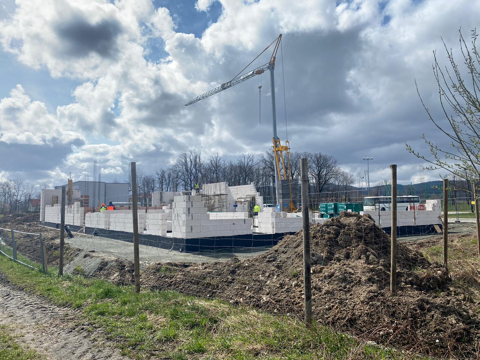 Gmina Stoszowice: Budowa inkubatora przedsiębiorczości idzie pełną parą  - Zdjęcie główne
