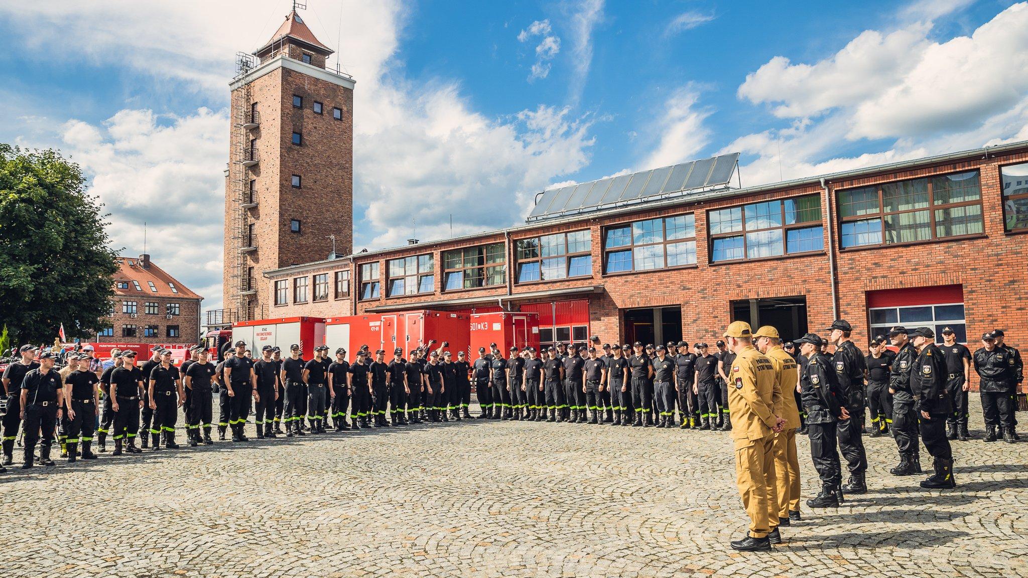 Ząbkowice Śląskie: Pożary w Grecji, nasi strażacy pojechali z pomocą - Zdjęcie główne