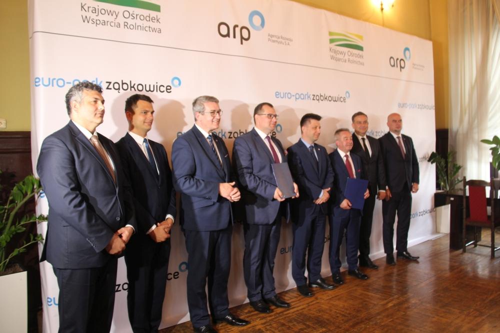 Umowa na Euro-Park Ząbkowice podpisana - Zdjęcie główne