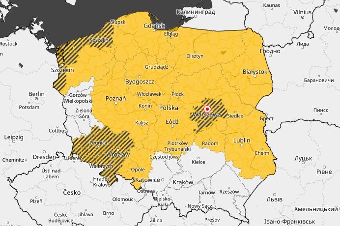 Powiat Ząbkowicki: Uwaga, mogą wystąpić burze z gradem! - Zdjęcie główne