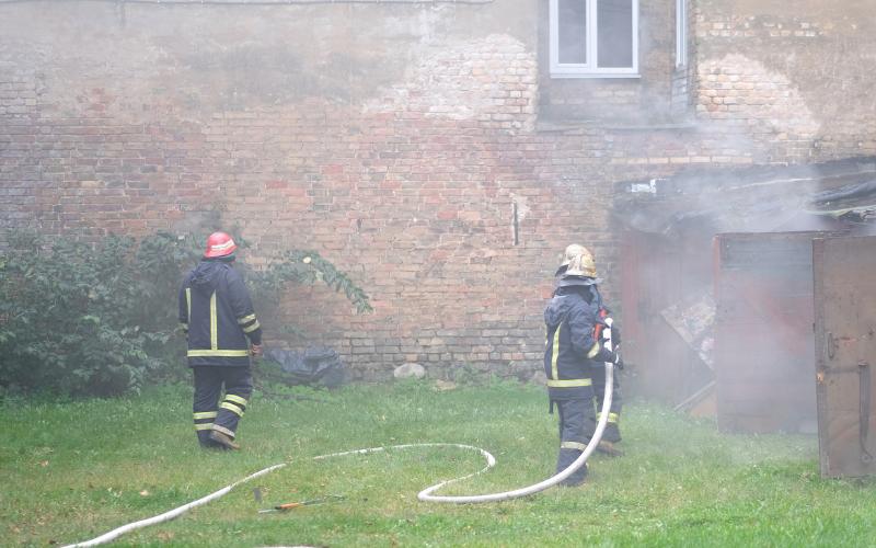Kamieniec Ząbkowicki: Co strażacy robili przy Młyńskiej? - Zdjęcie główne