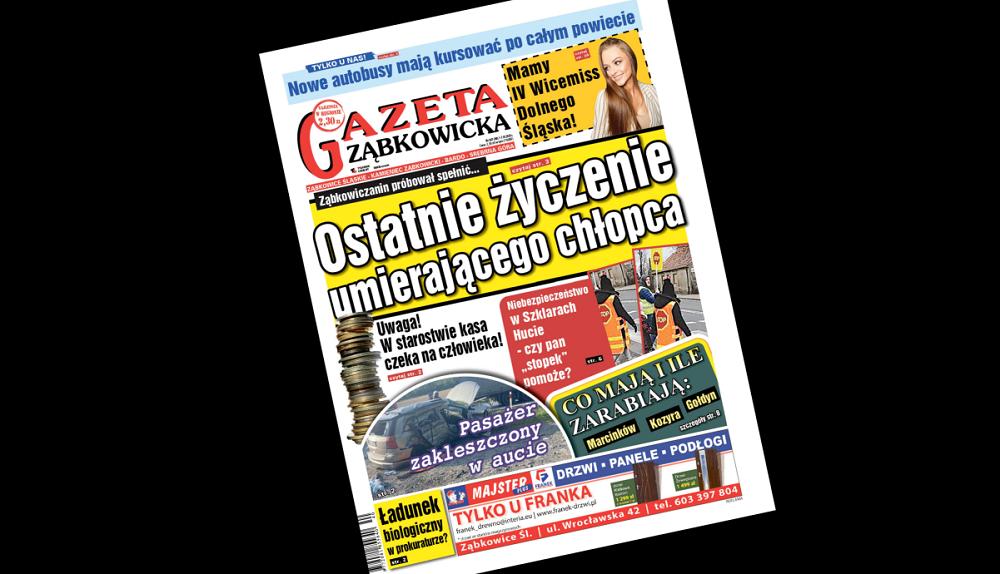 """""""Gazeta Ząbkowicka"""" z czwartku, 1 października - Zdjęcie główne"""