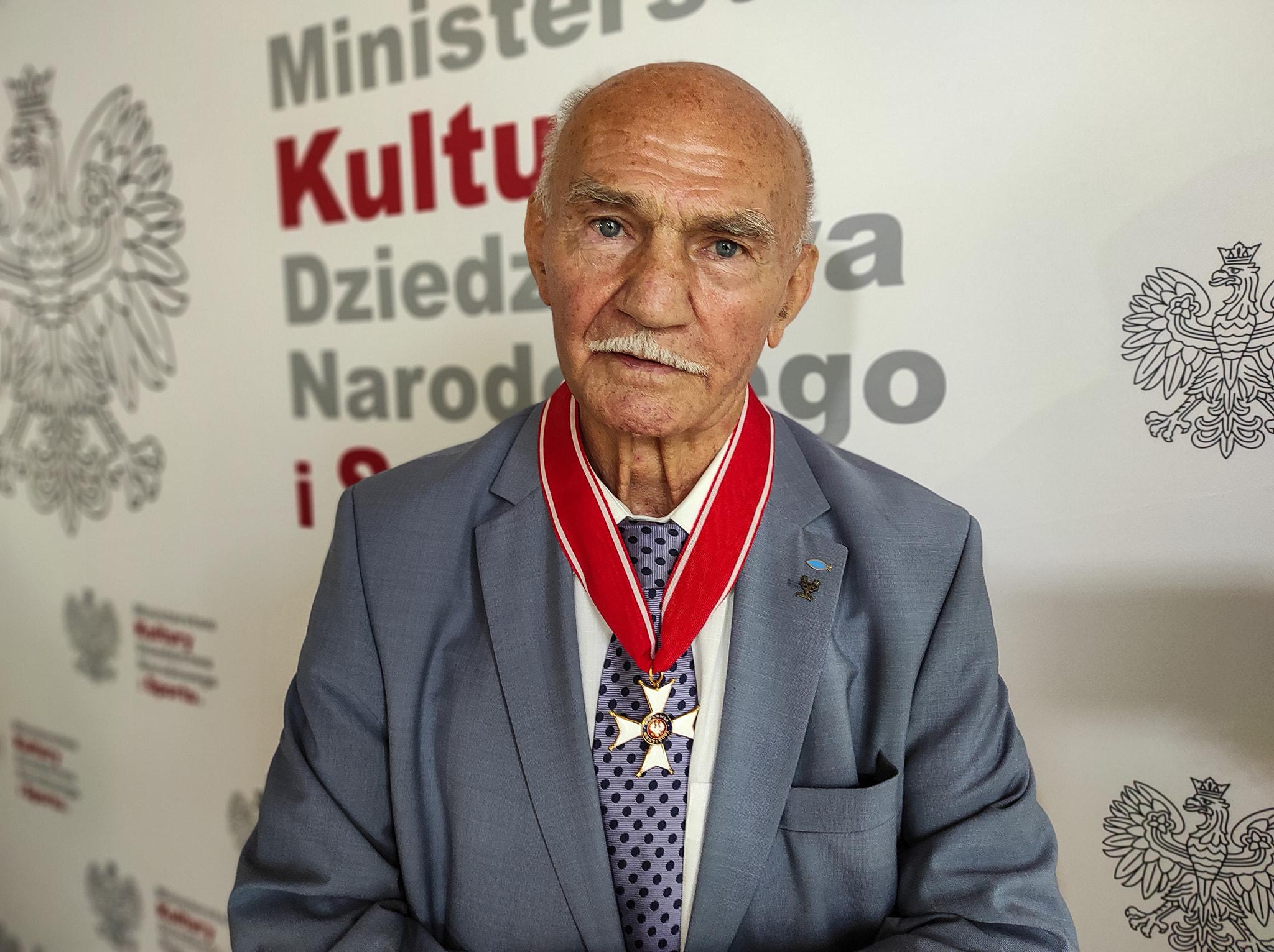 Ziębice. Marian Kasprzyk otrzymał Krzyż Komandorski Orderu Odrodzenia Polski - Zdjęcie główne
