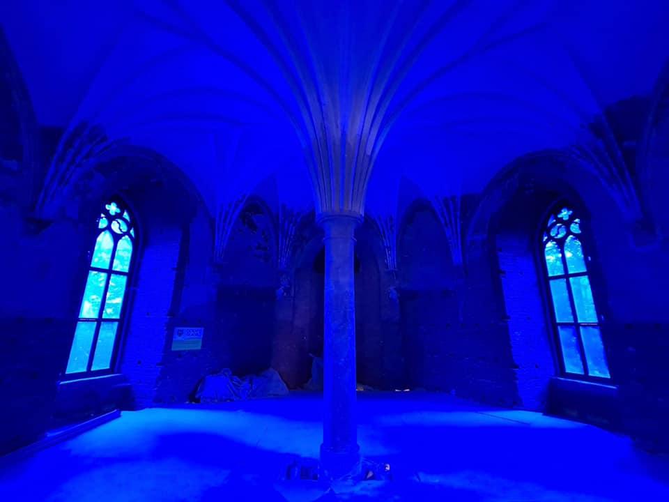 Kamieniec Ząbk. Niezwykłe światło w pałacu - Zdjęcie główne