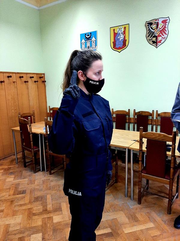 Ząbkowice Śl. Nowa policjantka w naszym mieście - Zdjęcie główne