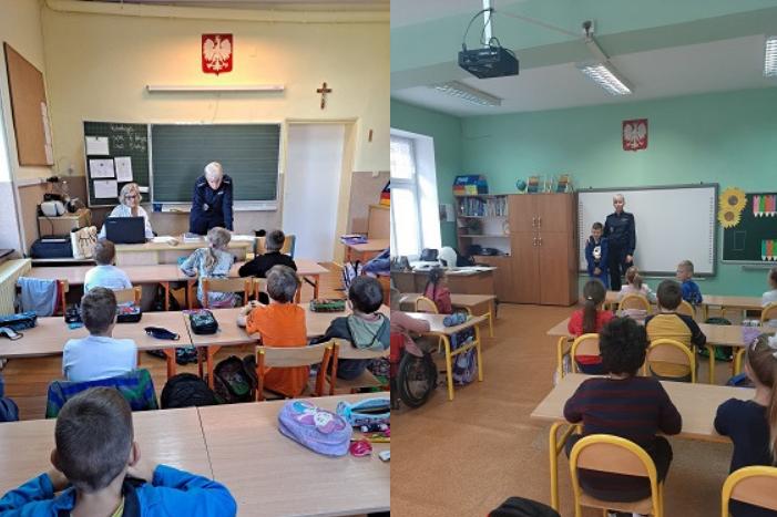 Powiat Ząbkowicki: Policjanci w szkołach - Zdjęcie główne