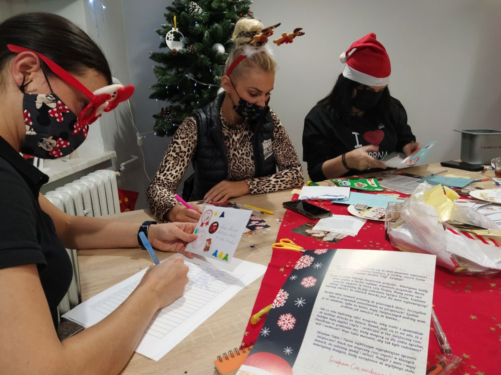 Z wizytą w polskim biurze św. Mikołaja [FOTO] - Zdjęcie główne