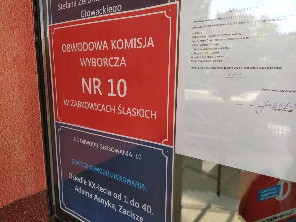 Wybory 12 lipca - frekwencja w powiecie ząbkowickim [aktualizacja] - Zdjęcie główne