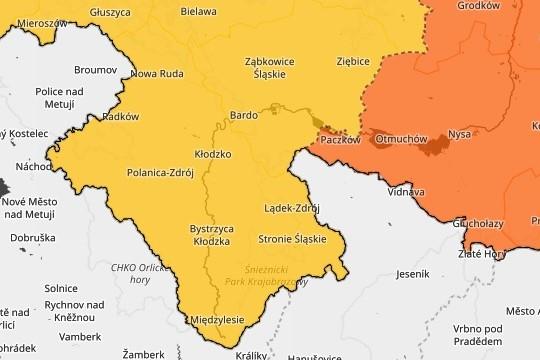 Powiat Ząbkowicki: Ostrzeżenie meteo - burze w naszej okolicy - Zdjęcie główne