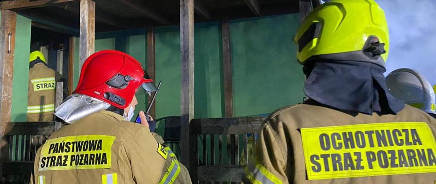 Strażacy ruszyli na ratunek chorym mieszkańcom - Zdjęcie główne