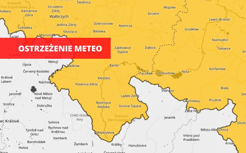 Powiat Ząbkowicki: Uwaga! Burze z gradem  - Zdjęcie główne
