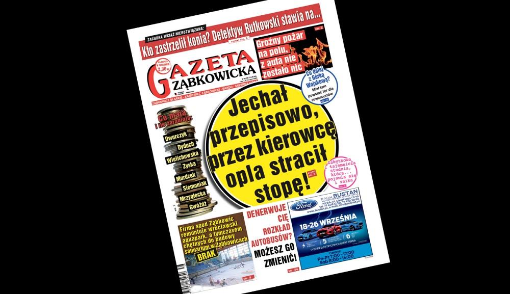 """""""Gazeta Ząbkowicka"""" z czwartku, 17 września - Zdjęcie główne"""