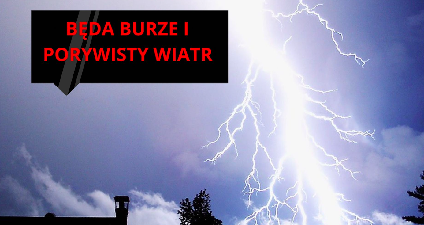 Powiat Ząbkowicki. Ostrzeżenie o burzach z gradem - Zdjęcie główne