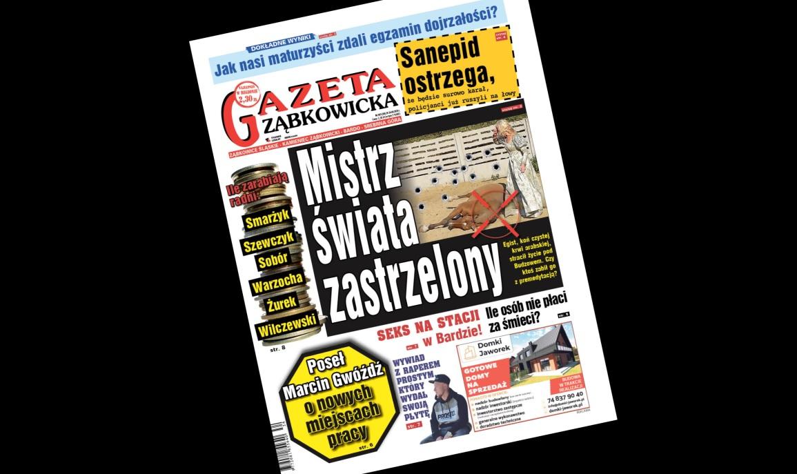 """""""Gazeta Ząbkowicka"""" z czwartku, 20 sierpnia  - Zdjęcie główne"""
