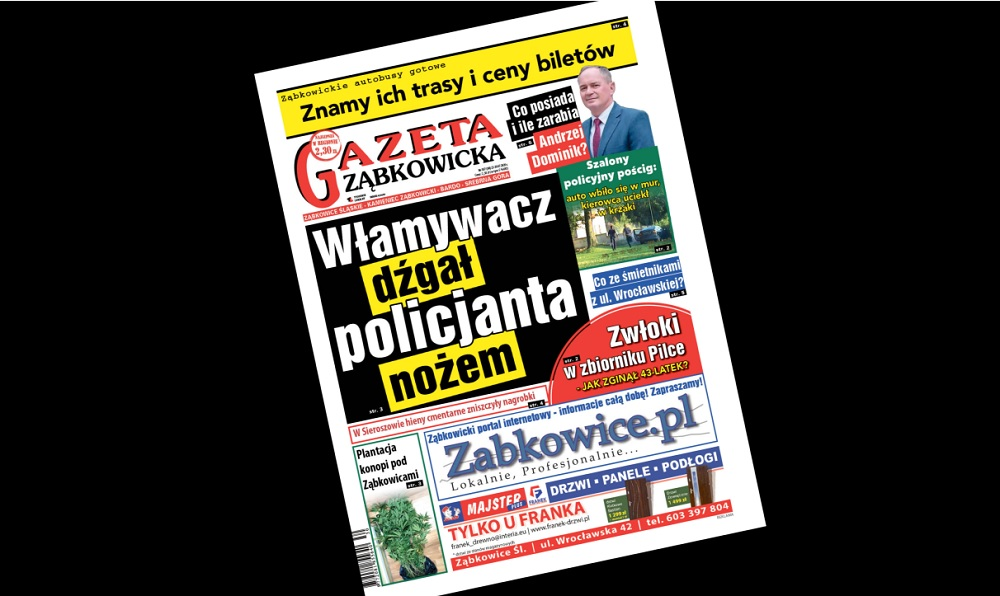 """""""Gazeta Ząbkowicka"""" z czwartku, 23 lipca  - Zdjęcie główne"""