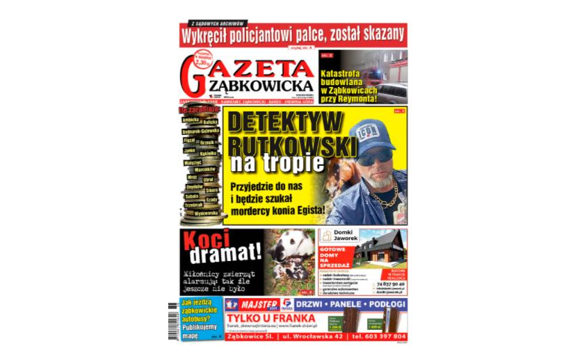 """""""Gazeta Ząbkowicka"""" z czwartku, 3 września - Zdjęcie główne"""