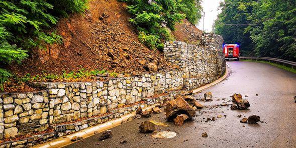 Bardo: Niebezpieczne skutki intensywnych opadów - Zdjęcie główne