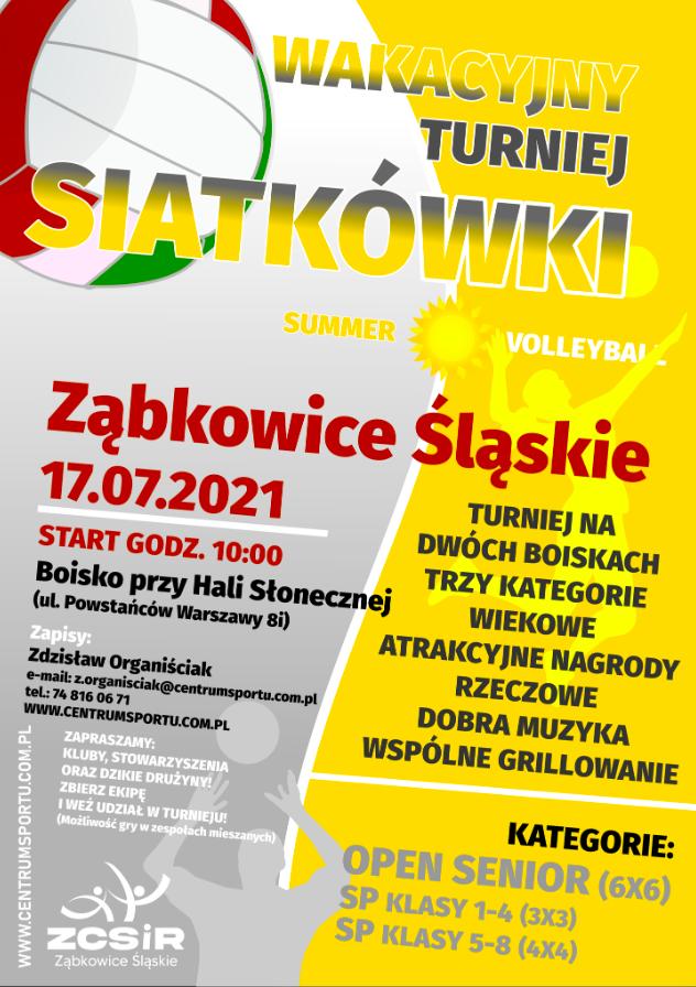 Ząbkowice Śl. Turniej siatkówki już w sobotę - Zdjęcie główne