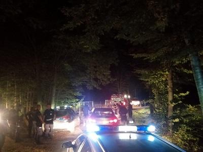 Policjanci z Ząbkowic szukali zaginionego grzybiarza - Zdjęcie główne
