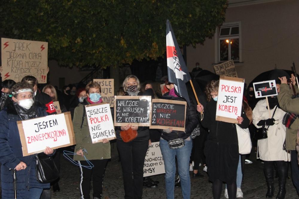 Ząbkowicki strajk kobiet [FOTO] - Zdjęcie główne