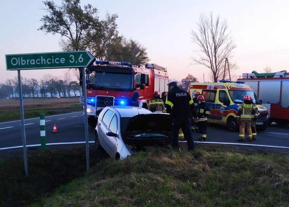 Wypadek na ósemce, po dziecko leci helikopter ratunkowy [FOTO] - Zdjęcie główne