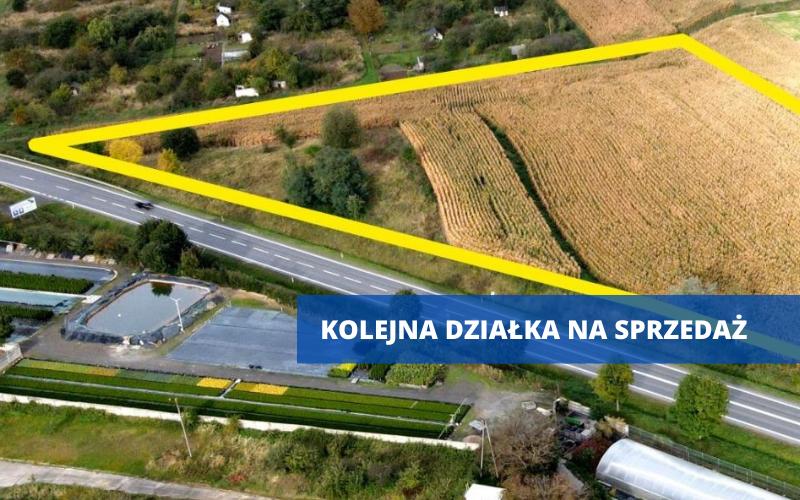 """Ząbkowice Śląskie: Działka przy """"ósemce"""" na sprzedaż - Zdjęcie główne"""