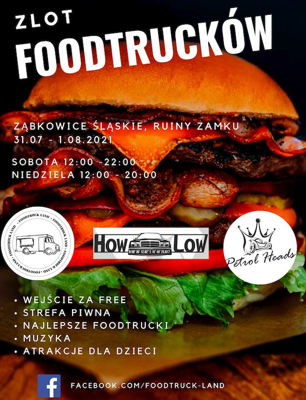 Zjazd food trucków w Ząbkowicach - Zdjęcie główne
