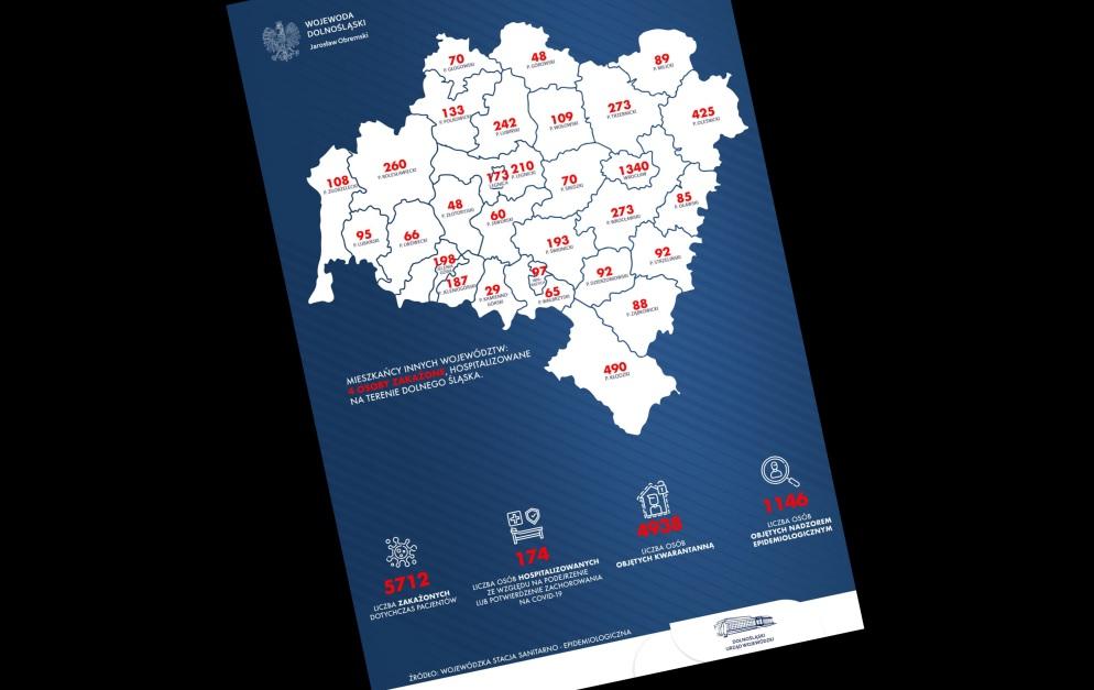 Rekord zakażeń na Dolnym Śląsku, u nas też nowe przypadki - Zdjęcie główne