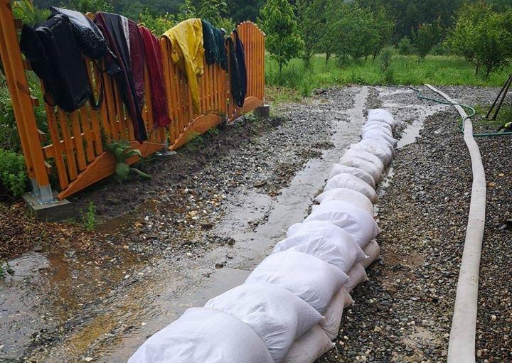 Pogotowie przeciwpowodziowe w gminie Bardo - Zdjęcie główne