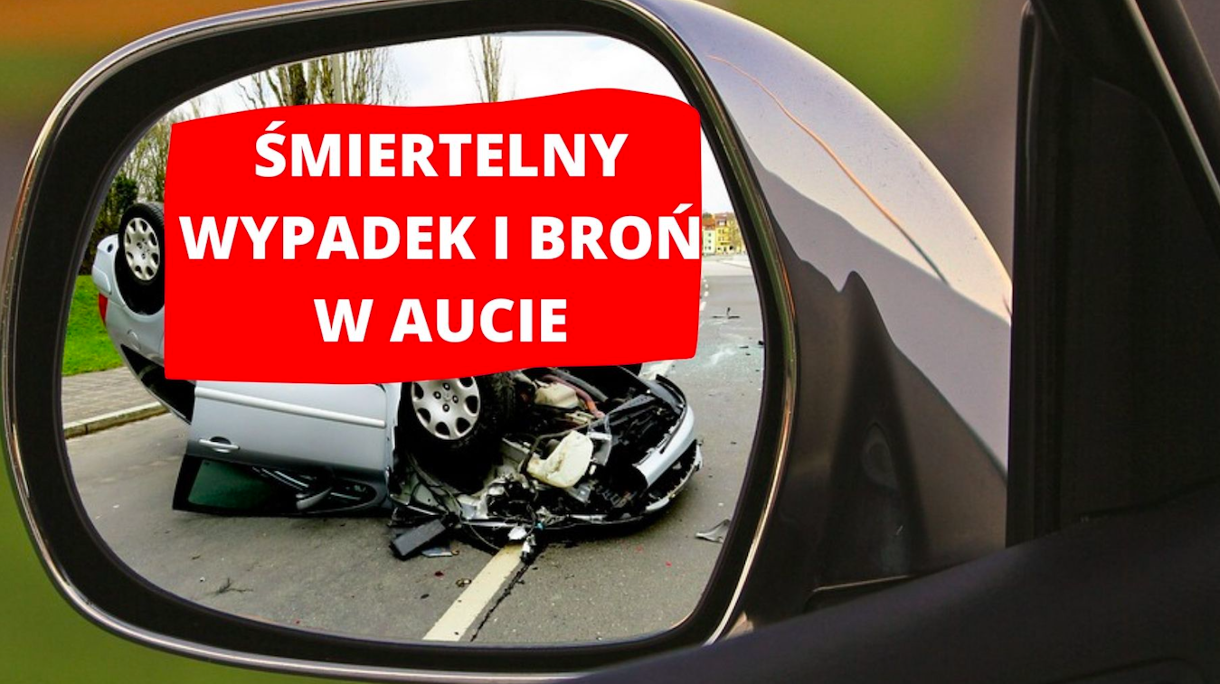 Ząbkowice Śl. W samochodzie znaleziono broń i amunicję - Zdjęcie główne